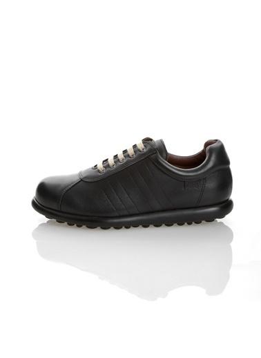 Camper %100 Deri Bağcıklı Ayakkabı Siyah